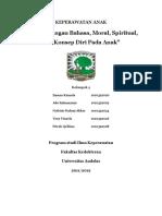 Kelp 4 ( Perkembangan Bahasa, Moral, Spiritual, dan Konsep Diri pada Anak ).docx