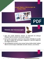 Microscopio Optico- Campo Claro