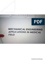 Mechanical Engineering Uses in Medical Field