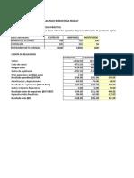 Excel Valoracion