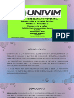 MEAvila_Demografía y Salud