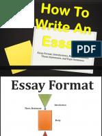 Write Essay 80