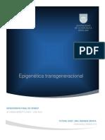 Epigenética transgeneracional