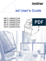 Brother Advanced User's Guide - Mfc-l8650cdw Mfc-l8850cdw Mfc-l9550cdw Dcp-l8500cdn Dcp-l8450cdw