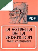 Rosenzweig Franz - La Estrella de La Redencion (completo).pdf