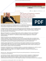 """6-6-2008 """"No es que el Presidente necesite de cuatro años más, sino que nosotros necesitamos cuatro años más de él"""" (Luis Guillermo Giraldo)"""