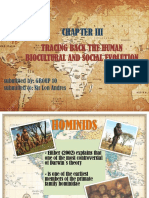 Tracing Back the Human Biocultural and Social Evolution