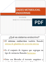 9.- Enfermedades Metabolicas, Endocrinas y Examenes Para Estas
