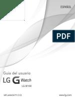 Manual Usuario g Watch w100 Ug Es