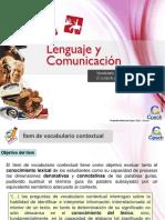 Clase 6 Vocabulario Contextual II. El Contexto y Su Explicación 2015 CAC