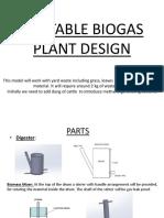 Portable Biogas