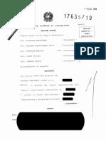 Corte di Cassazione, Sezione Lavoro, Sentenza 17635/2019