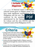 National Artists of the Philippines -Music