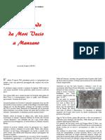 A4 ALBORA Passeggiando Da Mori Vecio a Manzano Edizione Libro 2016