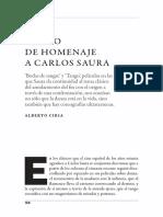 Tango de homenaje a Carlos Saura (Ciria)