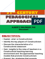 Constructivism - Pedagocial Approaches