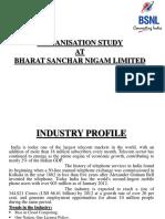 organisationstudyatbharatsancharnigamlimited-130228050912-phpapp02