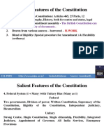 Salient Features of the Constitution