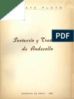 """Chile - """"Andacollo, santuario y tradición"""" (1951)"""