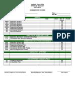 Academic Portfolio - Third Quarter