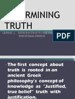 Philosophy Lesson 3