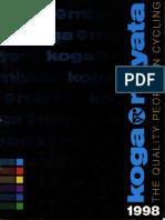 Koga Brochure 1998
