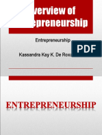 Entrepreneurship & Its Benefits