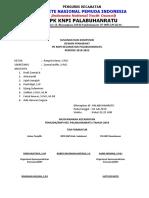Susunan Pengurus Knpi-plara Priode 2019-2022
