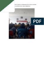 9.2.1.4 Foto Keterlibatan Kepala Puskesmas Dan Tenaga Klinis