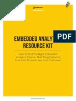 Embedded Analytics Resource Kit