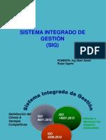 Sistema Integrado Gestion