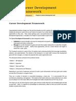career development framework