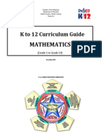 DLL 0-00 Math Curriculum Guide Grade 10
