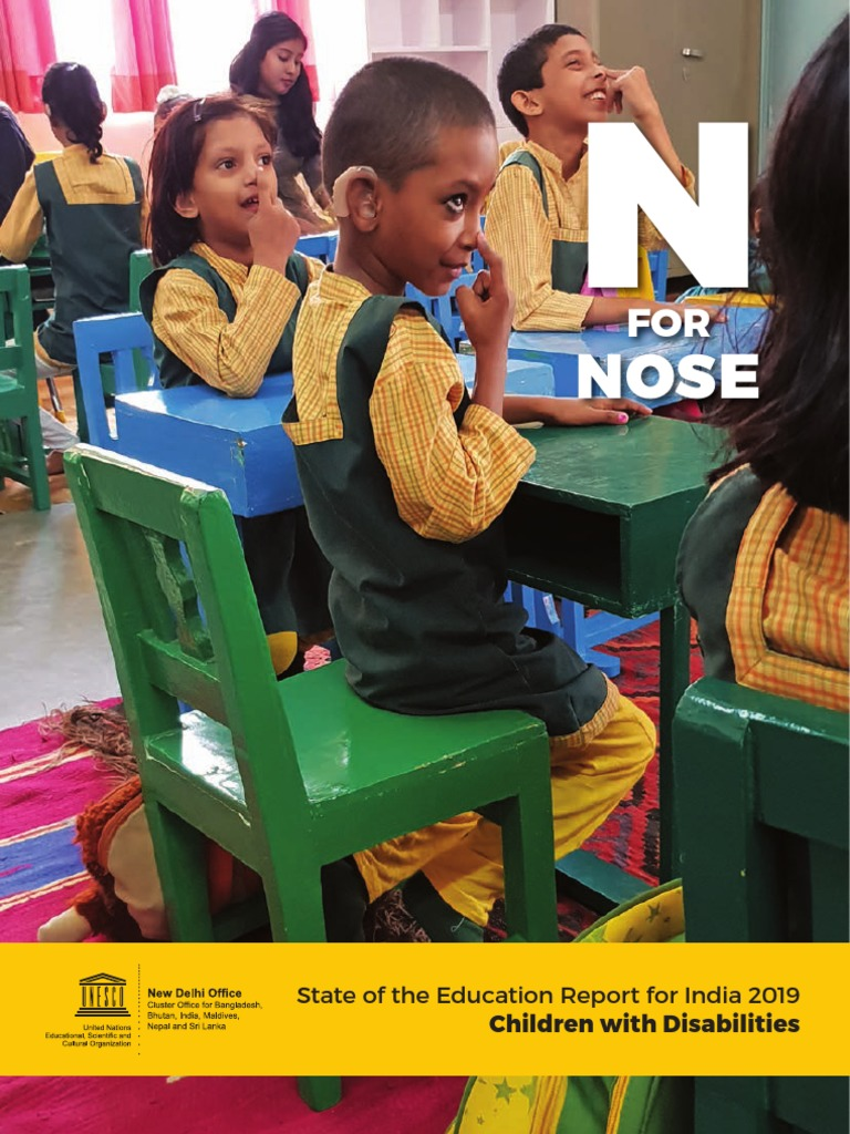N for Nose - State of the Education Report for India 2019