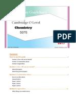 O'Level Chemistry(5070) Guideline