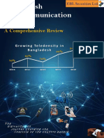 Bangladesh Telecommunication Industry-A Comprehensive Review 2019
