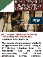 21st Century Literature Day1 1