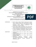3.6.1.44 SK Tentang Keterlibatan Petugas Pemberi Pelayanan Klinis Dalam Peningkatan Mutu