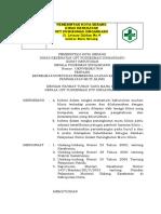 3.6.2.3 SK Tentang Keterlibatan Petugas Pemberi Pelayanan Klinis Dalam Peningkatan Mutu