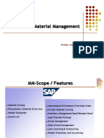 Presentation on SAP MM