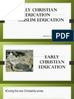 Early Christian Muslim Education (1)