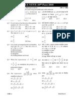 Sample Test Paper 2011 Bulls Eye