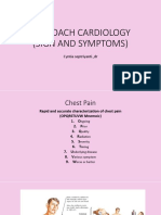 Sign and Symptom Cardiovascular