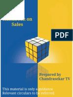 Handbook on Sales U8