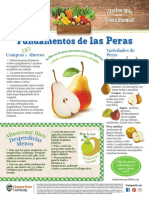 Pear Monthly Spanish