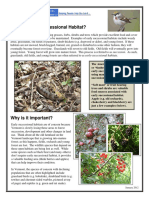 Early Successional Info Sheet 2012
