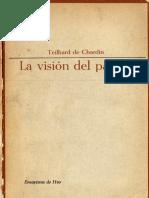 La Visión del Pasado - Teilhard de Chardin.pdf