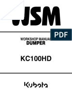 KUBOTA KC100HD DUMPER Service Repair Manual.pdf