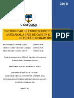 Documento Final. Proyecto Mermelada