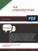 Sistemas linguisticos